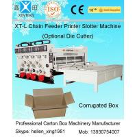 High Speed Auto Carton Making Machine With 15T Pneumatic Locking Printing Press Rollers