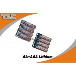 China 1.5V LiFeS2 AA 2700mAh Lithium Iron Battery for Camera on sale