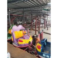 mini spin roller coaster 5.5m high outdoor thrilling amusement ride