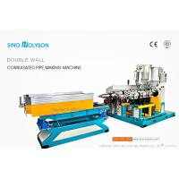 Sinohs CE ISO SJ-65 HDPE Double Wall Corrugated Pipe Machine, Professional Corrugated Pipe Manufacturing Machinery