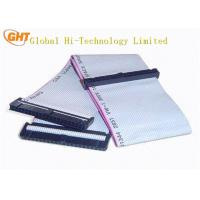 Custom Electrical IDC Ribbon Cable 1.27mm Pitch for laptop ODM / OEM Service
