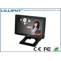 Black 10.1'' Desktop HDMI Touch Screen Monitor , 4 Wire Resistive Touch Panel