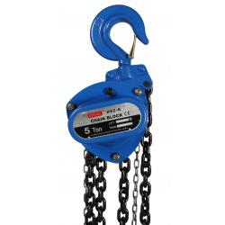China Construction Hoisting Equipment Manual / Hand Chain Hoist Zn Plating 5 Ton Safety on sale