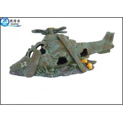 Helicopter model unique cool fish tank decorations for Cool fish for sale