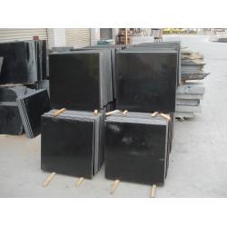 China Mongolia Black Granite, Granite Tops,Black Mongolia Vanity Tops,Black Window Sill,Black Tile on sale
