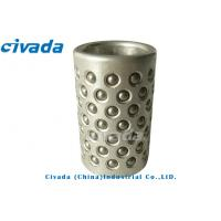 A5056 Steel Copper Ball Cages self - lubrication ball cage bearing for punching mold