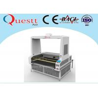 High Efficiency CO2 Laser Engraving And Cutting Machine Double Head With Vision Camera