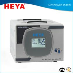 China Home Electrical 9KVA single phase LCD display AC Generator Voltage Stabilizer on sale