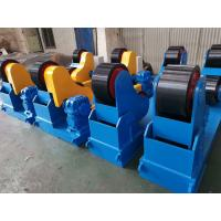 Self Aligning Turning Rolls 40 Tons Capacity Use Polyurethane Material Wheels and Siemens VFD Control Linear Speed