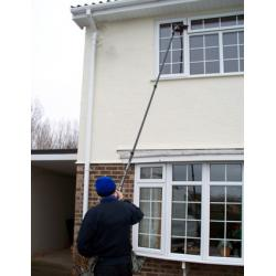 High stiffness 100 carbon fiber waterfed long reach pole for Long windows for sale