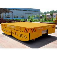 Steel material 100 tons heavy load  battery operated rail transfer cart China factory