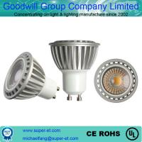 Aluminum COB 3w led spot light warm white 3000k GU10 AC 85-265V
