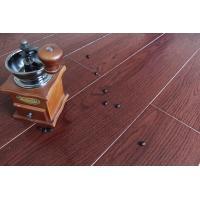 Wine Red Bamboo Fiber Wooden Floor Tiles Floor Wood Tiles Water Resistant