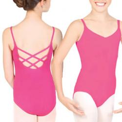 China Girl's camisole ballet leotard with trestle back dance costume children clothing leotards ballet tops on sale