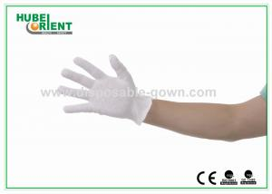 Polyethene 100% Soft Pure Cotton Gloves Disposable White Colour