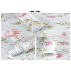 China Eco - Friendly Custom Strippable Self Adhesive Wallpaper For Sofa Background on sale