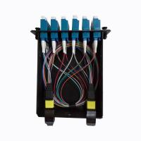 MPO-12 To 6x LC Duplex , Type A , 12 Fibers OS2 Single Mode FHD MPO Cassette