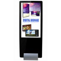 Ultra Slim Touch Vertical Digital Signage Display For Advertising Video Player