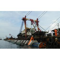 China Inflatable Marine Rubber Airbag For Subsea Pipeline Laying project on sale