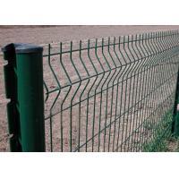 Portable V - Fold Welded Mesh Fence High Strength OEM / ODM Available