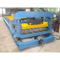 1250mm Metal Roof Tiles Making Machine Plated with Chrome on Surface