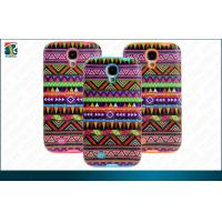 Hybird combo Samsung Galaxy Protective Cases  Folk Style PC TP Printing for Galaxy S4