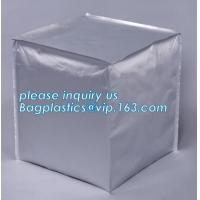 aseptic liners and IBC containers, Foil Gaylord Liners, Foil Heat Induction Seal Liners for PE & PP Containers, bagease