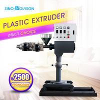 SINO-HS CE ISO SJ-25 Mark Line Used Mini Plastic Extruder, Lab Mini Extruder