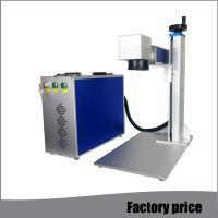 Metal Fiber Mini Laser Marking Machine EZCAD Software Low Power Consumption