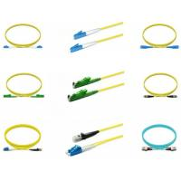 Singlemode Fiber Optic Patch Cord , Optic Patch Cord Sc Lc G657a2 2 Meters