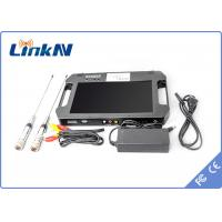 Digital Portable Video Receiver / COFDM Receiver With 10.1 Inch LCD Screen