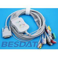 10 Leads ECG EKG Cable IEC Needle / Clip / Banana Electrode Compatible BJ-901D