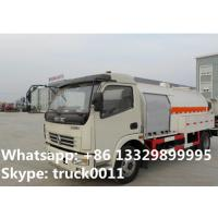 5500L capacity 2.3 ton 4*2 DONGFENG right hand drive mini lpg dispensing truck for sale, lpg dispensing truck for sale