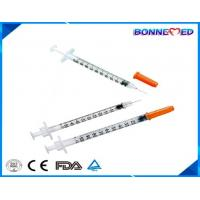 BM-4003 Medical Sterile Disposable Insulin Syringe u100 u50 u30 for Diabetes Made in China Cheap Price