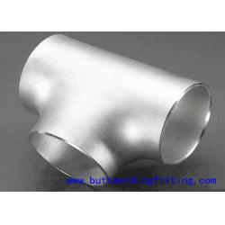 China XS XXS Stainless Steel Tee Pipe Fittings Tee 1/2-72 Inch WP309 Sch5-Sch160 on sale