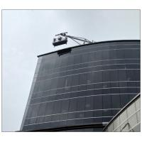 Indonesia aluminium 6 meters ZLP630 motorized temporary gondola for building cleaning
