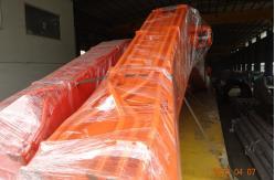 China 23 braço longo do crescimento do alcance da máquina escavadora de Doosan DX700 do medidor para o porto de dragagem Q345B + Q690D fornecedor