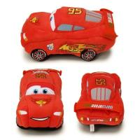 Red Original Disney Cars Toys 3  Stuffed Cartoon Plush Toys For Baby Playing