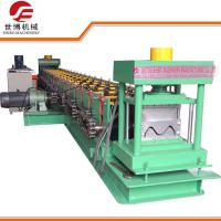 PPGI / GI Materials Guardrail Roll Forming Machine With 2 - 4 mm Working Thickness