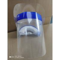CE EN166 EN149 FDA Approved Disposable Safety Face Shield Fluid Resistant Full Face Mask Visor Protection from Splash