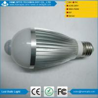 7W LED Light Bulb Globe with PIR Motion Sensor E27 Screw, B22 Bayonet