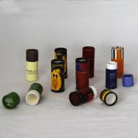 CMYK Color Paper Tube Packaging Matt Lamination Paper Cosmetic Container