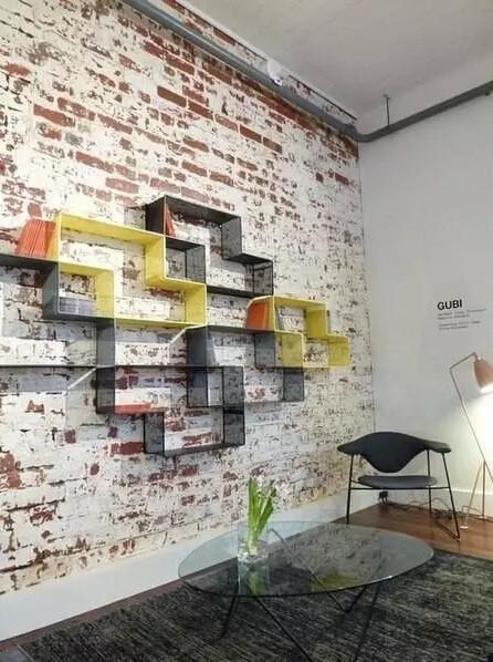 Кирпичная стена декор