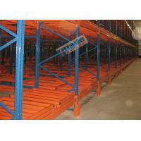 1500 Kg Max Load Material Handling Racks Storage Push Back Racking For Freezers