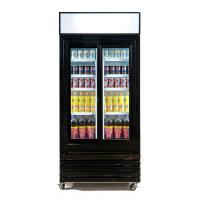 Stylish Sliding Glass Door Beer Cooler / Commercial Beverage Refrigerator Glass Door