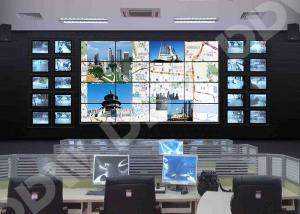 Wall monitor display zero bezel video wall Flexible structure design for cctv traffic control room DDW-LW5506