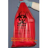 Clinical supplies, biohazard,Specimen bags, autoclavable bags, sacks, Cytotoxic Waste Bags
