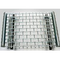 Sturdy Structure Crimped Stainless Steel Woven Wire Mesh for Quarry Screen