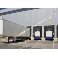 PVC Fabric Loading Dock Sectional Seal Lifting Industrial Garage Doors With Remote Operations