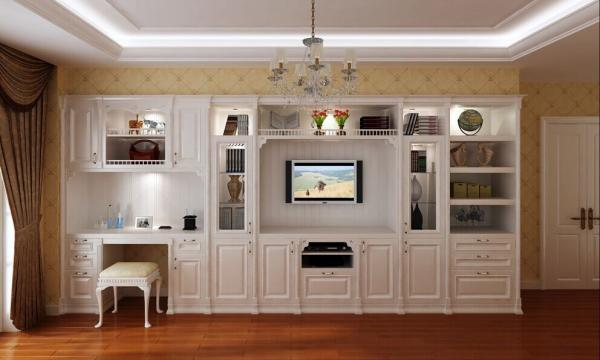 Solid Wood Door WardrobeTv Cabinetliving Room Furniture